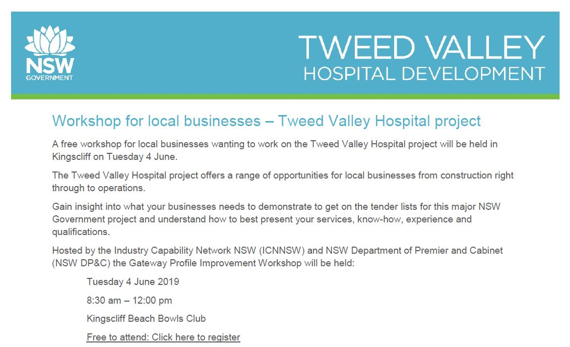 Free workshop for local businesses